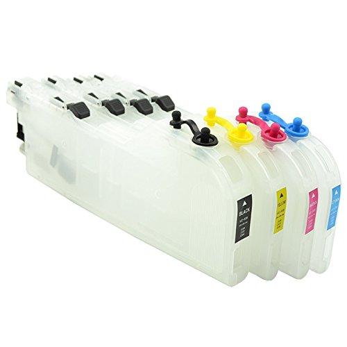 Refillable lc-525 lc529 alta capacidad vacío cartuchos para ...