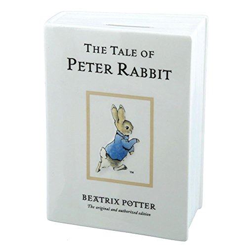Beatrix Potter A28347 The Tale of Peter Rabbit Money Bank (Bank Peter Rabbit)