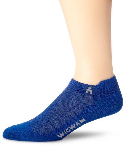 - Wigwam Men's Ironman Lightning Pro Low Cut socks, Blue, Medium