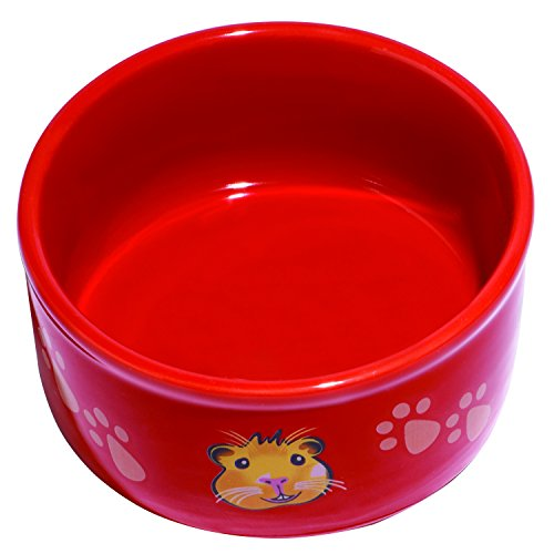 Kaytee-Paw-Print-PetWare-Bowl-Guinea-Pig-Assorted-Colors