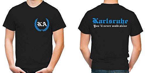 Karlsruhe Kranz T-Shirt | Liga | Trikot | Fanshirt | Bundes | M2