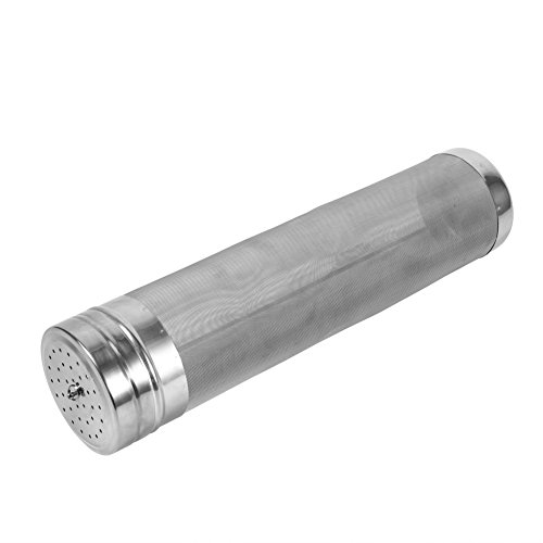 Hop Filter,Home Brewing Stainless Steel 300 Micron Useful Beer Keg Dry Hopper Filter by Estink