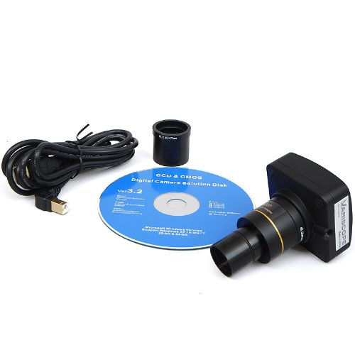 Variscope 14.0 MP USB 2.0 Telescope Digital Camera and Software, Compatible with Windows XP/Vista/8 and Mac OS 10.6 & Up by Variscope