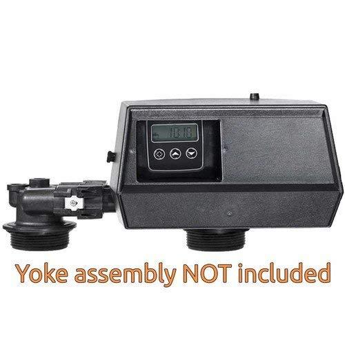 Fleck 9100sxt 9100 SXT Digital Water Softener Control Valve Dual Tank Replacement Head, black