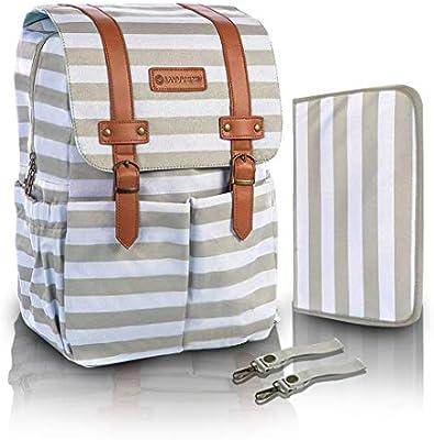 Amazon.com: savvymami Convertible bolsa de pañales por bebé ...