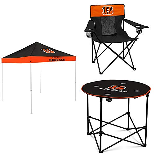 (Cincinnati Bengals Tent, Table and Chair Package)