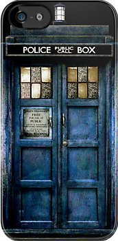 DOCTOR WHO CASE (CUSTOM) for iPhone 5/5s Black case