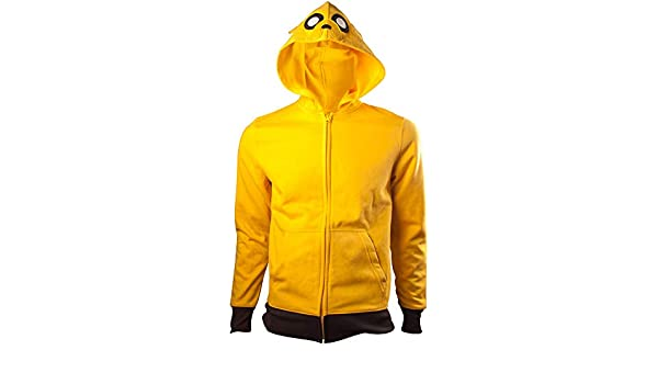 Amazon.com: Adventure Time Officially Licensed Mens Jake Character Orange Zip-Up Hoodie: Clothing