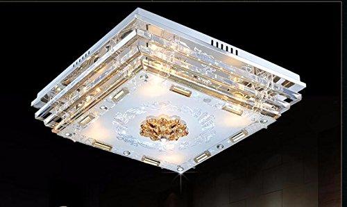 Plafoniere Rettangolari Cristallo : Yxhflo rettangolare lampada di cristallo soggiorno da