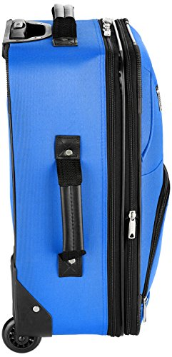 Rockland Luggage 2 Piece Set, Blue, One Size