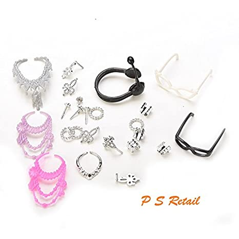 Gift Pack Doll Accessories Jewellery Bag for  Necklace Combs Shoes HUJB