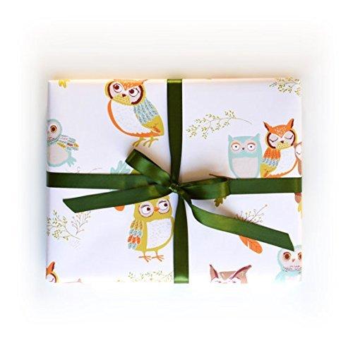 Sea Urchin Studio Gift Wrap Owls