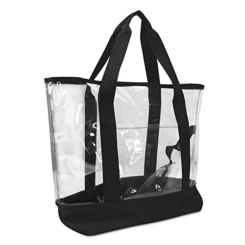Large Clear Tote Small Pouch