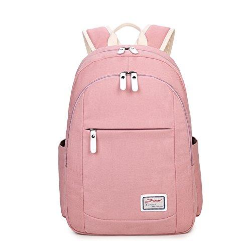 Sacs élèves Toile loisirs Milieu Sac unie et Mode d'ordinateur sac C de secondaire voyage du des les couleur backpack A de cartables vqvrO