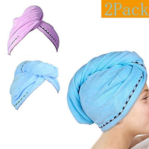 Microfiber Hair Towel Wrap