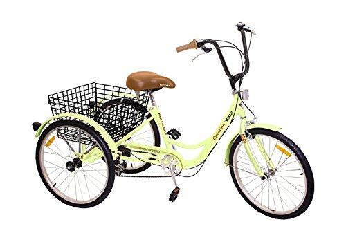 Komodo Cycling 6 speed Tricycle Warranty