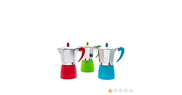 San Ignacio Cafetera 1T Soft Touch Splash Rojo: Amazon.es: Hogar