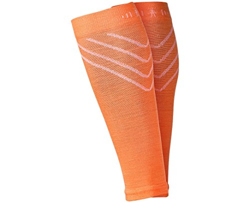 SmartWool PhD Compression Calf Sleeve (Nectarine) X-Large