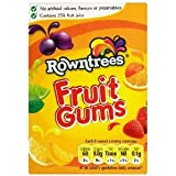 Rowntrees Fruit Gum Cartons