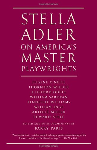 Books On Acting in Amazon Store - Stella Adler on America's Master Playwrights