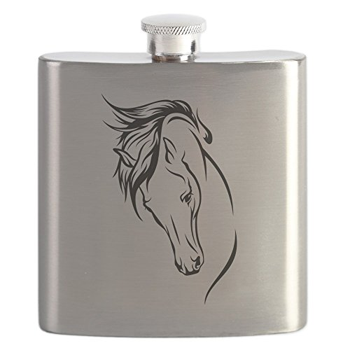 CafePress Drawn Horse Stainless Drinking