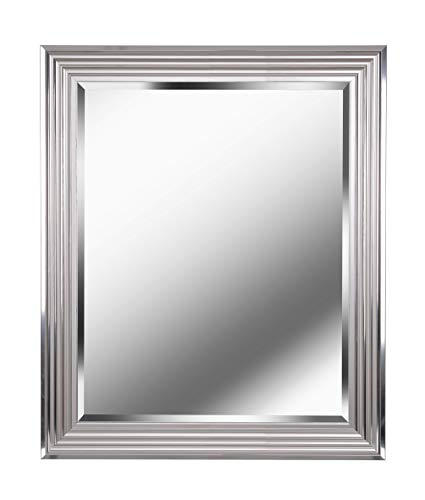Kenroy Home Lyonesse Mirror, Chrome (Wall 36