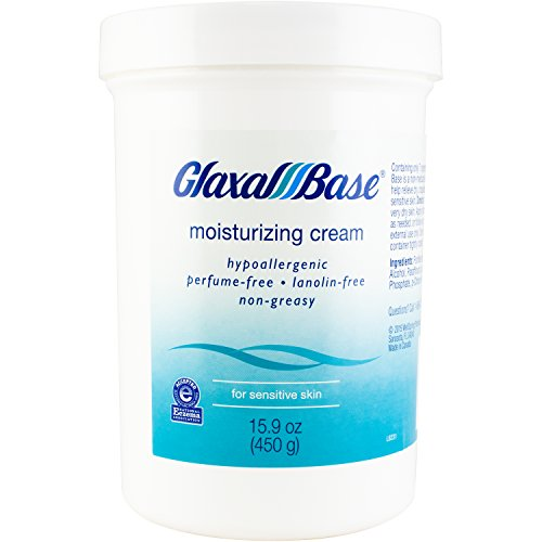 - Glaxal Base Moisturizing Cream, 450 g (1 Count), Fragrance Free, Hypoallergenic, Soothing for Sensitive Skin, Nonirritating to Eczema