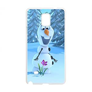 Happy Cute Lovely Olaf Design Best Seller High Quality Phone Case For Samsung Galacxy Note 4