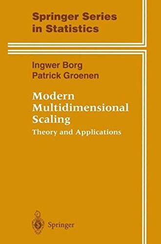 Modern Multidimensional Scaling: Theory and Applications (Springer Series in Statistics)