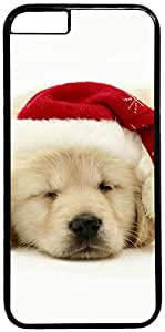 Christmas Dog Retro Vintage Design iPhone 6 (4.7 inch) Hard Shell Case Cover by iCustomonline