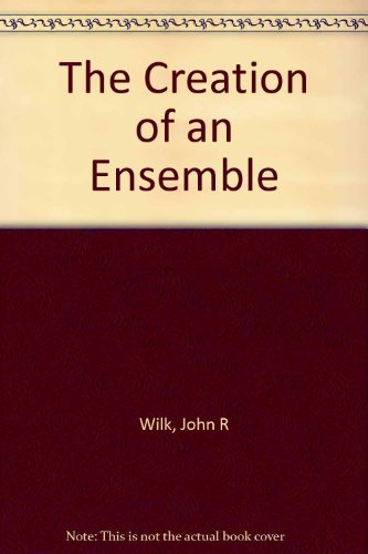 The Creation of an Ensemble: The First Years of American Conservatory Theatre