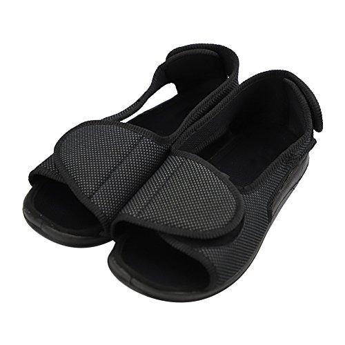 Negro Vestir De Para Mujer Chuangli Sandalias 0WaqE5nOX