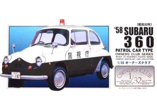 マイクロエース 1/32 オーナーズクラブシリーズ No.63 `58 スバル360 ミニパトの商品画像