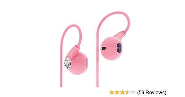 Amazon Com Joyshare Uiisii U1 Earbuds In Ear Headphones Metal Sound Cell Phone Headset Earphones With Mic Stereo Bass For Iphone Ipod Ipad Samsung Htc Lg Android Smartphones Mp3 Players Pink Electronics