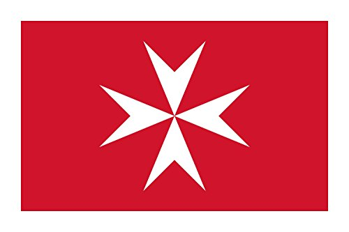 Cheap magFlags XXXS Flag Malta | landscape flag | 0.135m² | 1.5sqft | 30x45cm | 1×1.5foot – 100% Made in Germany – long lasting outdoor flag