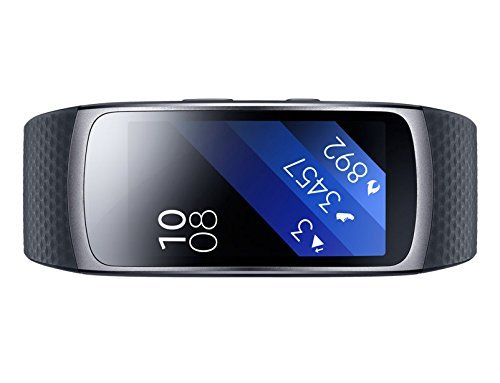 Samsung Gear Fit2 SmartWatch (Renewed) (Large) (Gear Fit Watch)