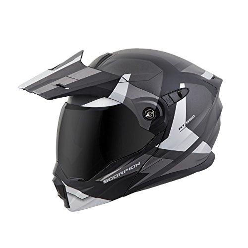 Scorpion Full Systems (Scorpion EXO AT950 Modular Neocon Street Bike Motorcycle Helmet Silver XX Large)