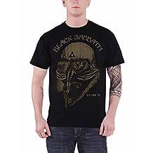 Black Sabbath T Shirt US Tour 78 band logo new Official Mens Vintage Black