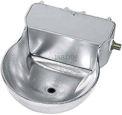 Suinga Bebedero AUTOMATICO para Caballos. Tamaño 22 x 30 x 12 cm. Fabricado en Aluminio