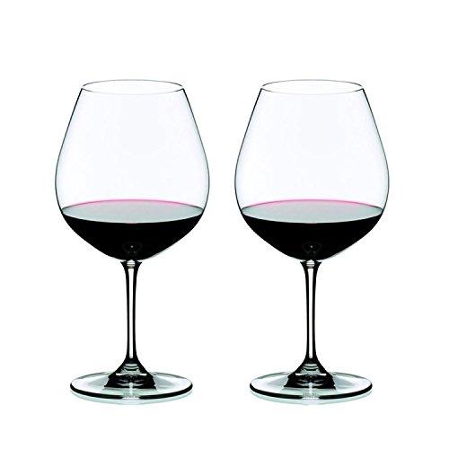 Riedel 6416/07 VINUM Pinot Noir Glass, Set of 2, Clear