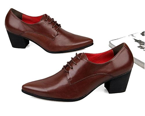 HAPPYSHOP(TM HAPPYSHOP(TM HAPPYSHOP(TM Mens Elevator Shoe 5CM High Heels Pointed Toes Leather Shoes Formal Wear Business Shoe B01IVRN06Y Western 2f45ea