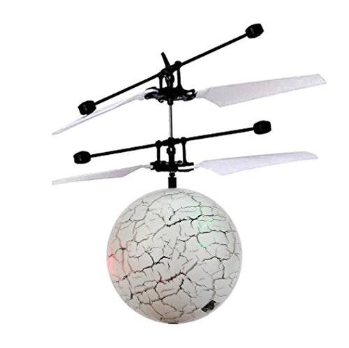 Second Halloween 30 Costumes (RC Flying Ball Drone Helicopter Ball Built-in Shinning LED Lighting Toy for Kids by CSSD)