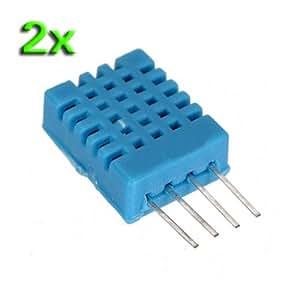 SODIAL(R) 2X DHT11 Digital Humidity & Temperature Sensor Probe for HVAC Arduino PIC