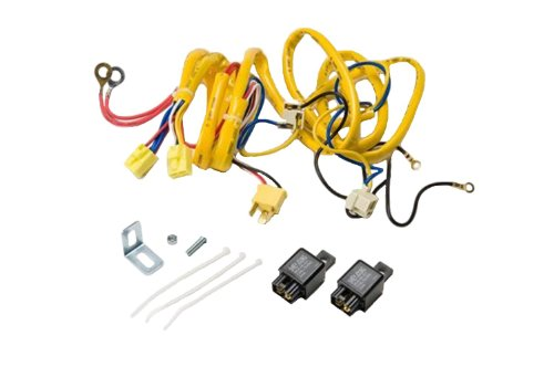 Putco 230004HW Premium Automotive Lighting H4 100W Heavy Duty Wiring Harness and Relay