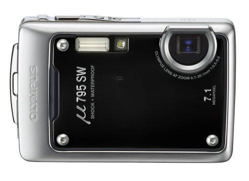OLYMPUS 防水デジタルカメラ μ795SW (ミュー) ピアノブラック μ795SWBLK