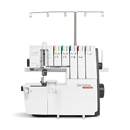 Bernette 48 Funlock Máquina combinada barata Overlock Coverstich máquina con grandes Alcance de los servicios y