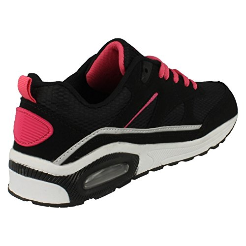 Ladies Airtech entrenamiento perfecto para correr negro/fucsia