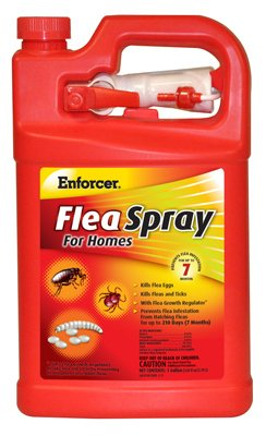 Enforcer Flea Spray for Homes, 128-Ounce (Spray To Get Rid Of Ticks In Yard)
