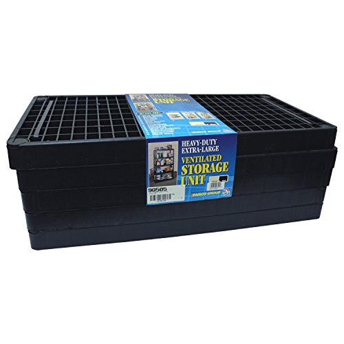 EMSCO Group 5 -Shelf Ventilated Utility Rack by Emsco Group