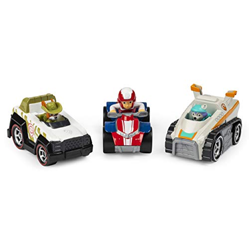 Paw Patrol 6055866 True Metal Classic Pack of 3 Collectible Die-Cast Vehicles, 1: 55 Scale